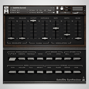 Moog Satellite for Kontakt