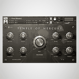 Environments - Temple of Mercury and Convolution Reverb Impulse