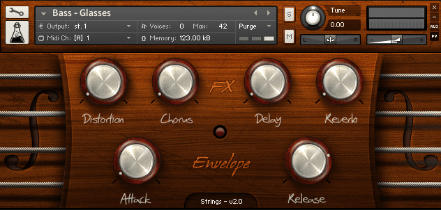 Strings for Kontakt