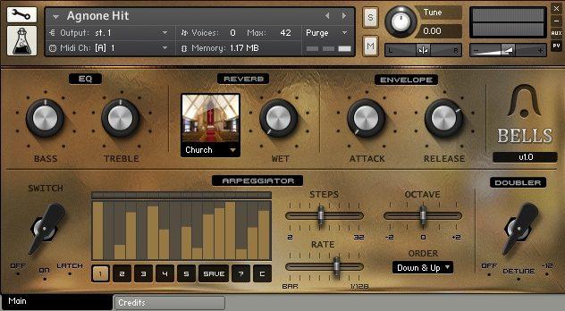 Bells - Sample Library for Kontakt 4 - AudioThing