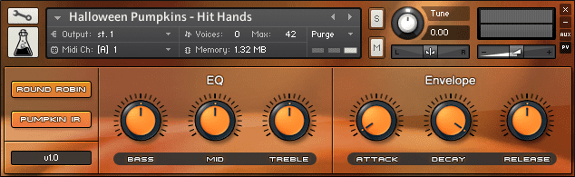 Halloween Pumpkins samples for Kontakt
