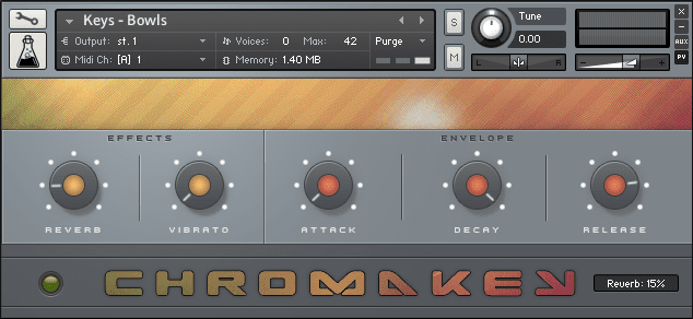ChromaKey, Chromaphone patches for Kontakt