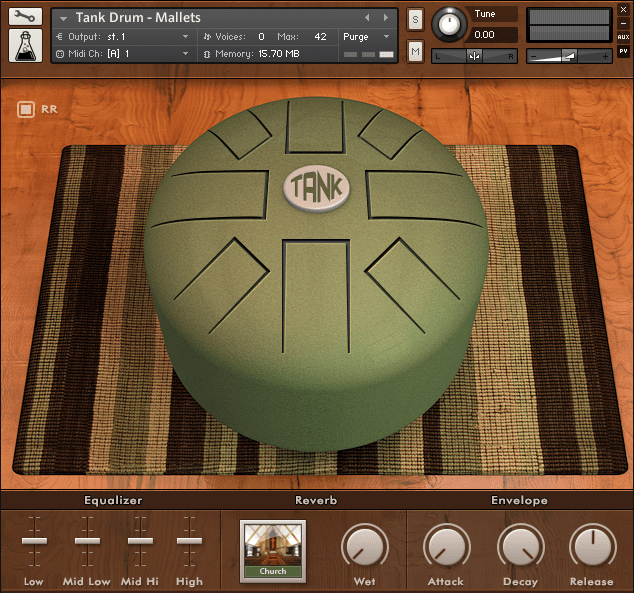 AudioThing Tank Drum GUI