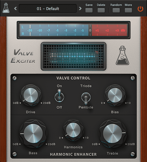 AudioThing Valve Exciter GUI