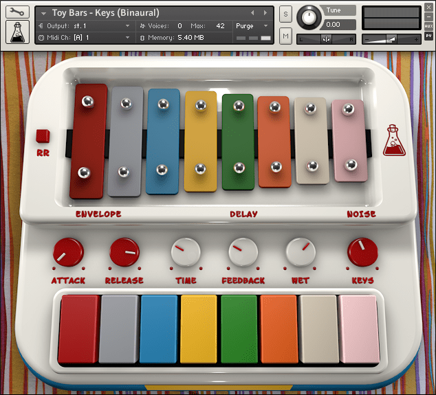 AudioThing Toy Bars Kontakt 5