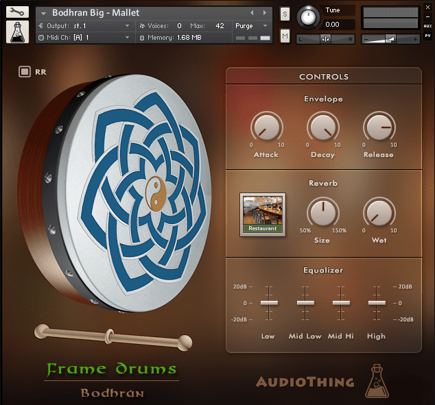 Frame Drums Library for Kontakt