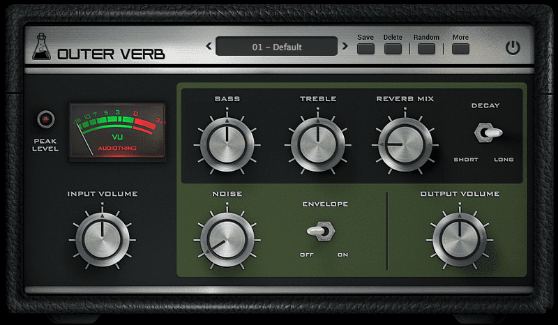 AudioThing Outer Verb - Vintage Spring Reverb - Space Echo RE-201