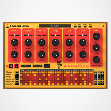 Latin Percussion Plugin Drum Machine