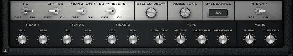 Outer Space Panel 2 - Tape Echo Plugin