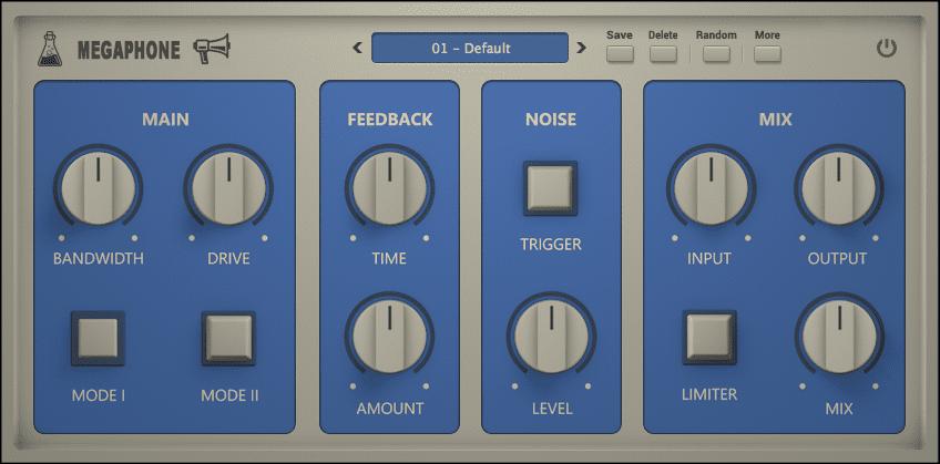 AudioThing Megaphone GUI