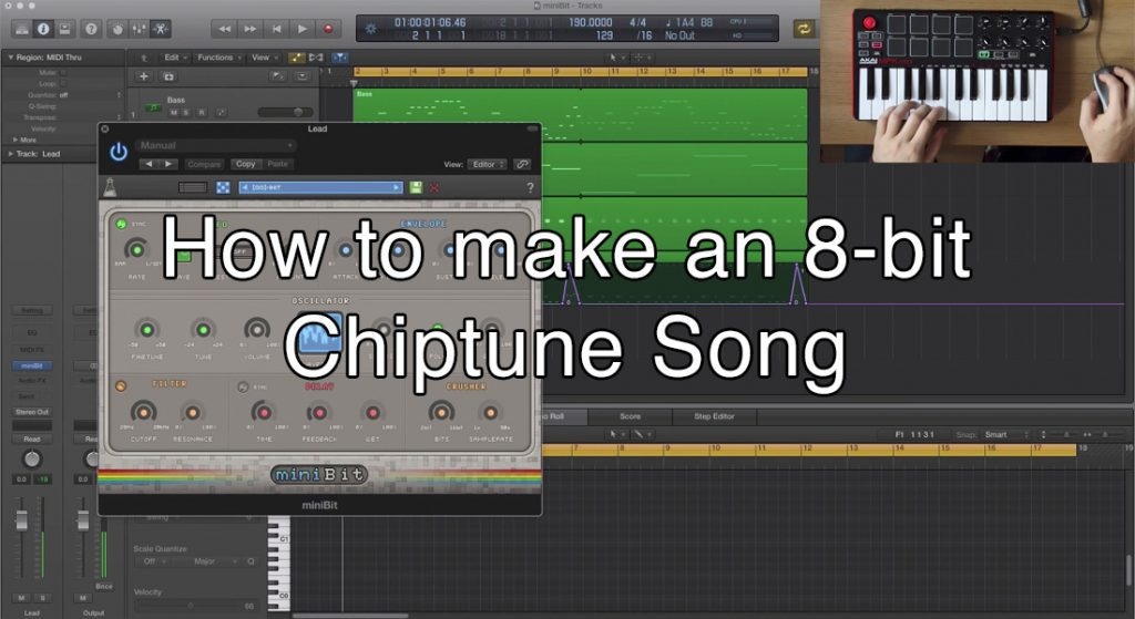 How to make an 8bit chiptune song (cover)