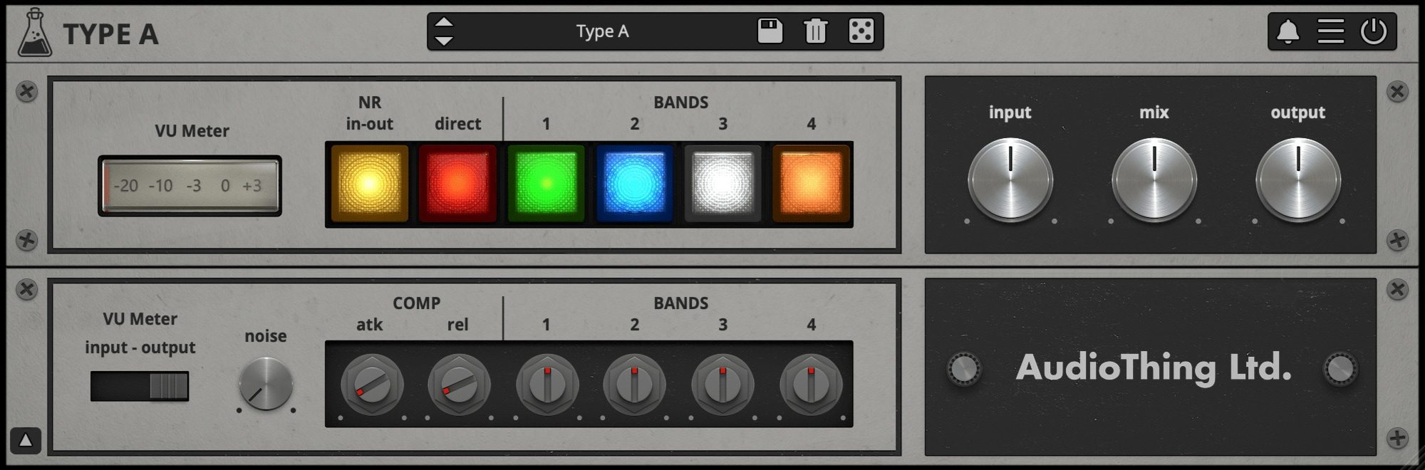 Type A GUI 2x