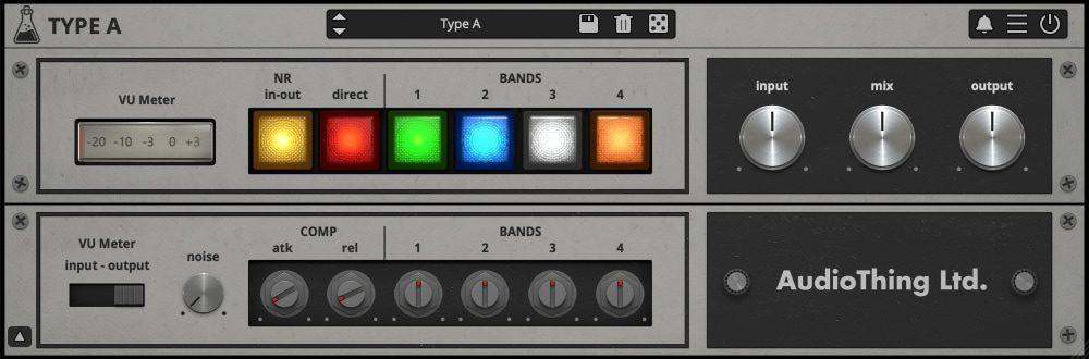Type A - Dolby Trick Plugin - Vintage Enhancer - GUI